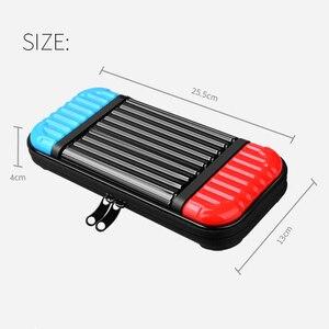 Image 5 - PC قشرة صلبة ل Nintend التبديل واقية حقيبة التخزين حالة غطاء للماء المحمولة حمل لنينتندو التبديل وحدة NS