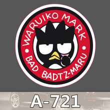 A-721 Bad Badtz-Maru Wasserdichte Kühle DIY Aufkleber Für Laptop Gepäck Skateboard Kühlschrank Auto Graffiti Cartoon Aufkleber