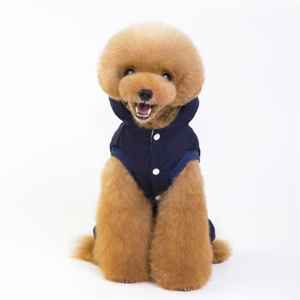 Cálido abrigo para cachorros y perros pequeños 6