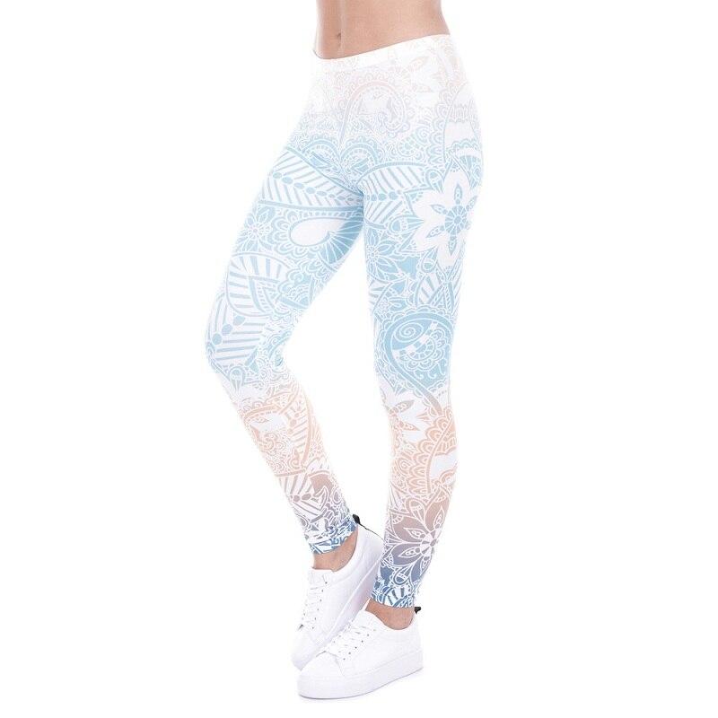 Sports & Entertainment Sincere New Patchwork Print Yoga Pants Women Sexy Bandage Slim Stretch Fitness Leggings Ladies Workout Sportswear Jogging Femme #yl