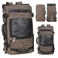 SUUTOOP Brand Stylish Travel Large Capacity Backpack Male Luggage Shoulder Bag Computer Backpacks Men Functional Versatile Bags
