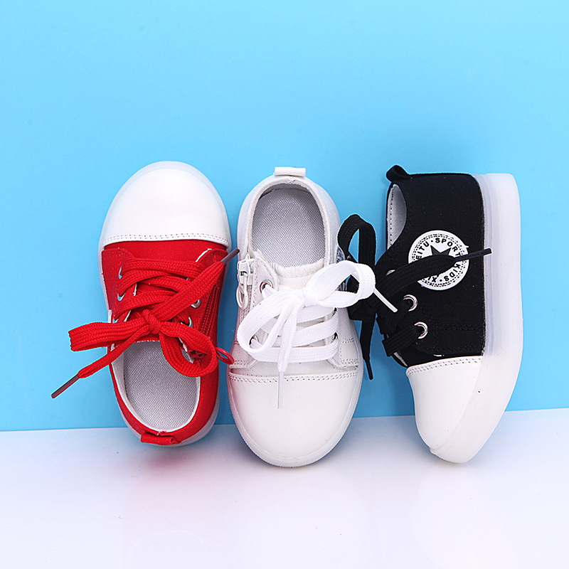 2018 Patchwork All season baby casual shoes LED Lovely tennis girls boys sneakers excellent European baby toddlers footwear