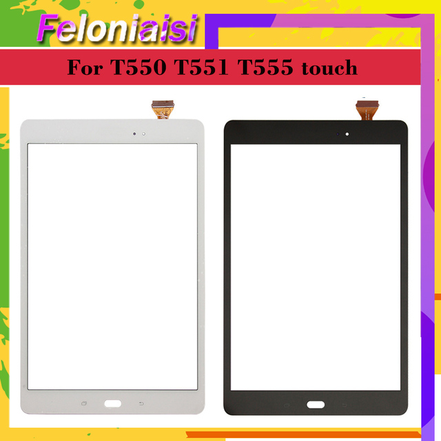 Original Für Samsung Galaxy Tab EINE 9,7 SM-T550 SM-T551 SM-T555 T550 T551 T555 Touchscreen Digitizer Panel Sensor Ersatz