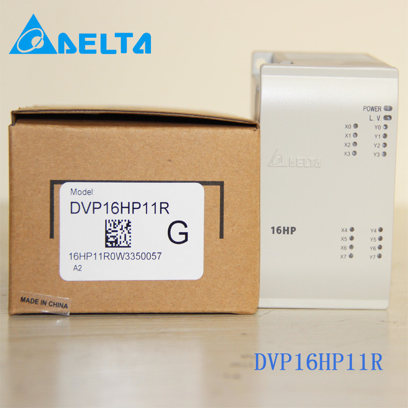DVP16HP11R Delta EH2/EH3 Series PLC Digital Module DI 8 DO 8 Relay new in box dvp16sp11t delta s series plc digital module di 8 do 8 transistor npn new in box