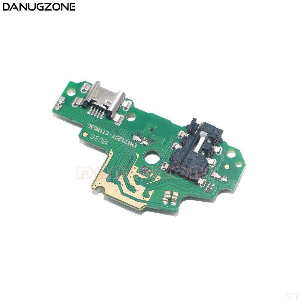 30PCS Para Huawei P Inteligente/Desfrutar de 7S Enjoy7S FIG-AL00 Tomada Jack Plug Conector de Porta Doca de Carregamento USB cabo Flexível da Placa de carga