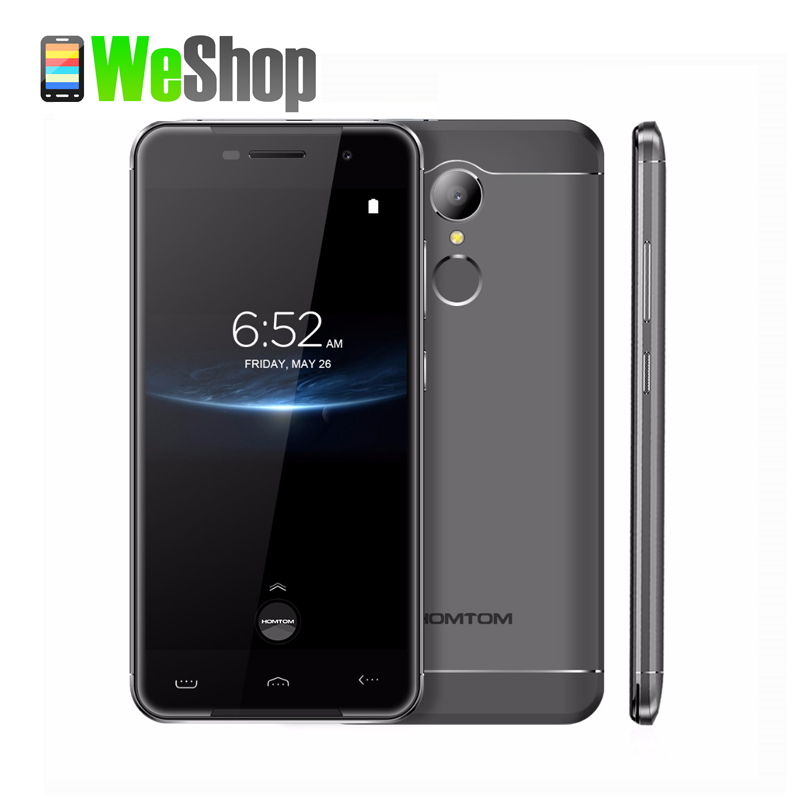bilder für Homtom HT37 Pro Handy 5,0 Zoll HD Doppel Lautsprecher Mtk6737 Quad Core Android 7.0 3 GB + 32 GB 3000 mAh Fingerabdruck 4G Smartphone