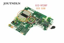 JOUTNDLN PARA Lenovo IDEAPAD 320-15ABR 80XS Laptop motherboard 5B20P11116 NM-B341 DDR4 W/A12-9720P CPU GM 4 GB RAM Testados trabalho(China)