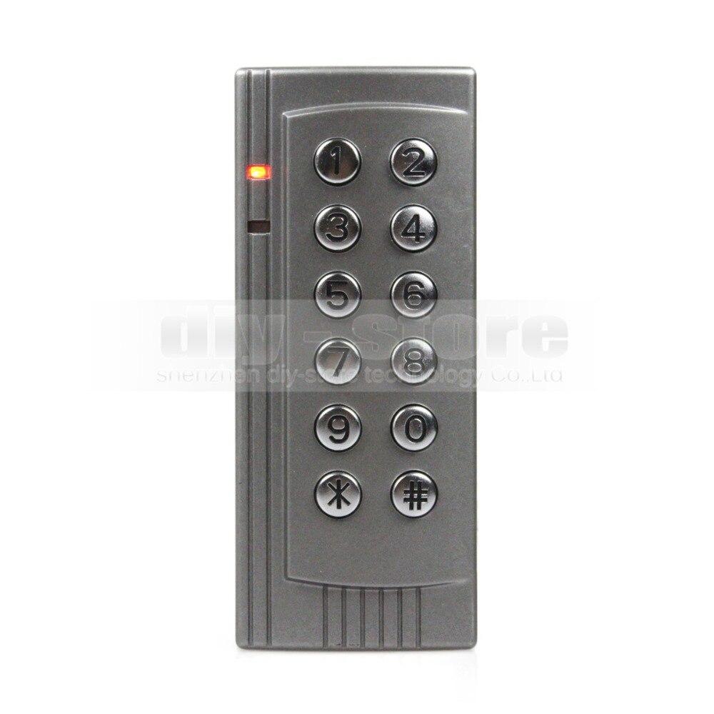 Best buy ) }}DIYSECUR Proximity RFID 125KHz Card Reader Access Control System Kit Keypad