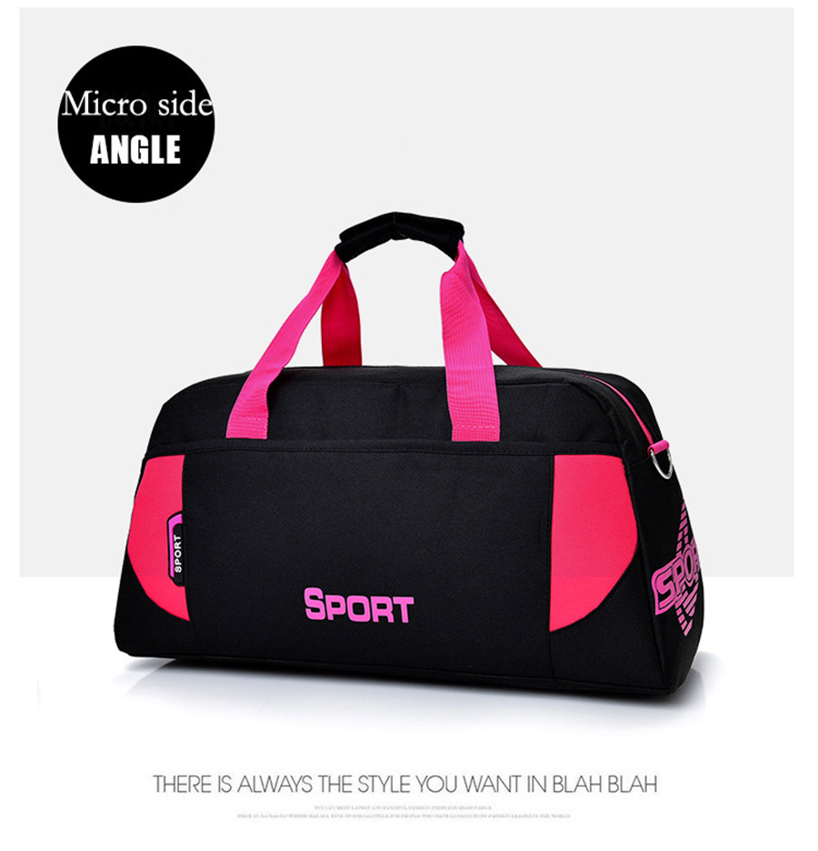 Security & Protection Outdoor Gym Bags Womens Sports Fitness Yoga Bag Travel Luggage Men Training Sports Bag Fitness One Shoulder Handbag