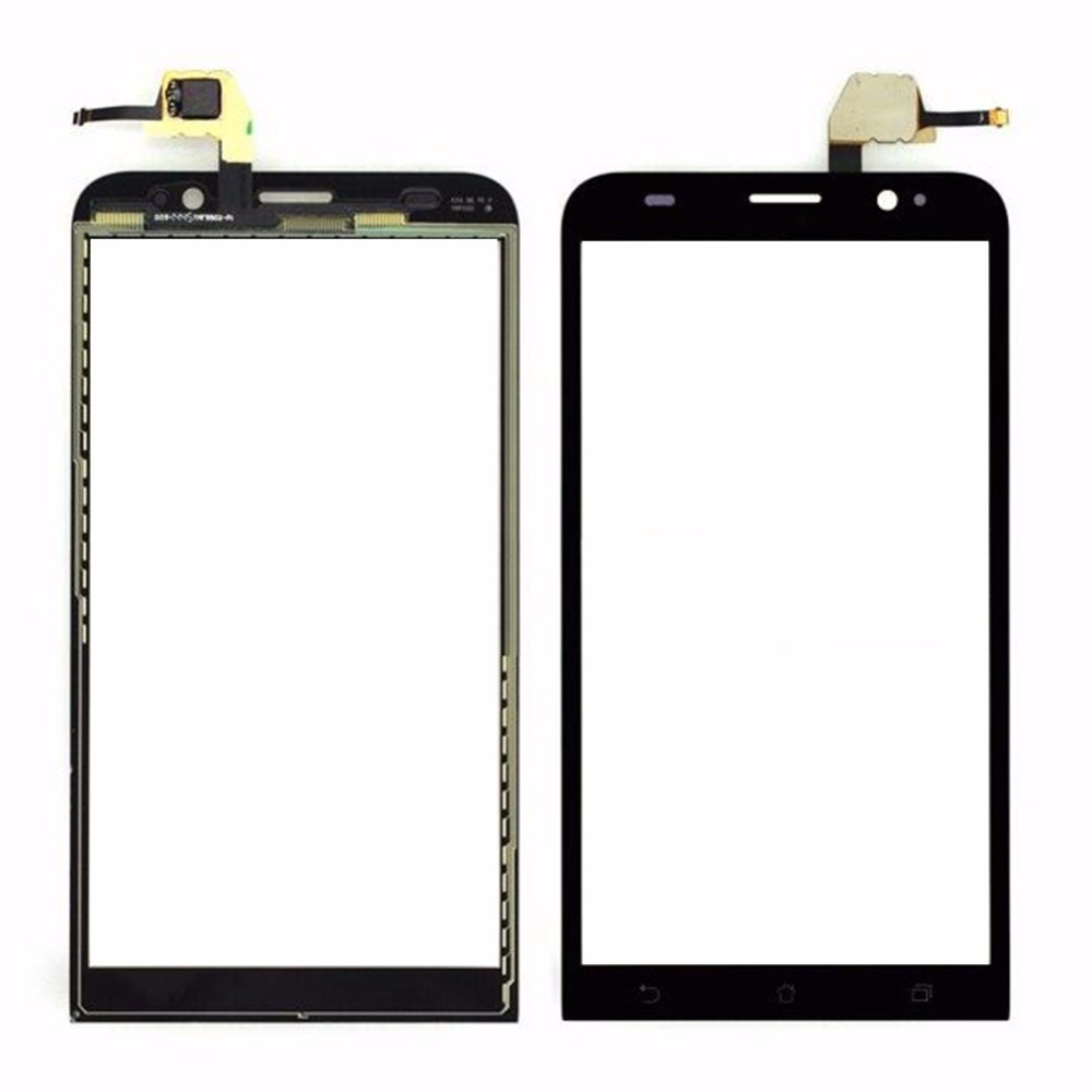 New Black Touch Screen Panel Digitizer Glass Display For ASUS Zenfone2 ZE550ML / Zenfone 2 Touchscreen Replacement Parts Repair touch glass touch screen panel new for dsc06466