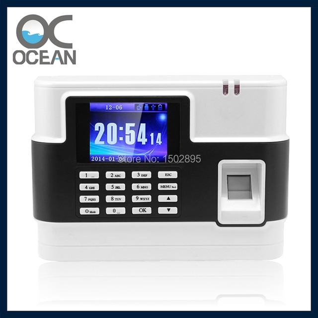 Free Shipping! Electronic Timesheet Software Biometric Fingerprint