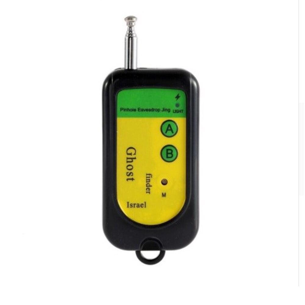1 шт. Беспроводной сигнал детектора РФ Tracer Скрытая Камера Finder призрак Сенсор 100-2400 мГц GSM сигнализация устройства Радио частота проверьте ...