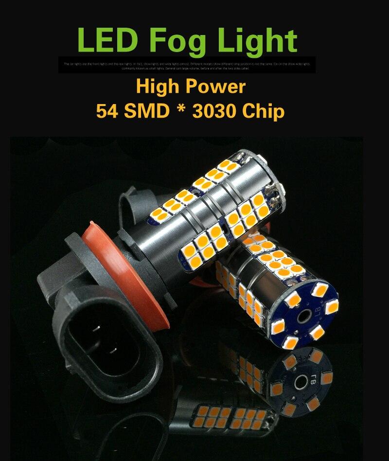 9005 H16 PSX24W LED Carro Luzes de