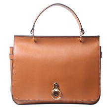 2019 New Fashion Genuine Leather women messenger Bags Circle lock Cow leather shoulder&Crossbody bag High Quality Flap bags стоимость