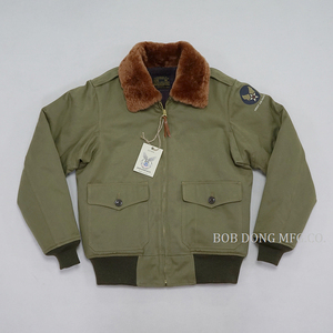 Image 2 - BOB DONG Repro Tipo B 10 Bomber Giacca Vintage Mens US Air Force Volo Unifrom