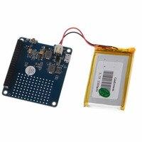 UPS HAT Board Module 2500mAh Lithium Battery For Raspberry Pi 3 Model B Pi 2B B
