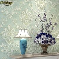 beibehang Cloud 3D relief three dimensional Continental Damascus wallpaper thick non woven wallpaper papel de parede