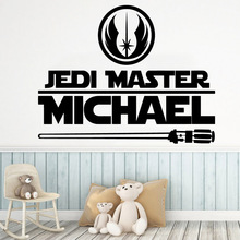 Cartoon star wars Vinyl Decals Wall Stickers For Kids Rooms Diy Home Decoration Art Decal Living Room