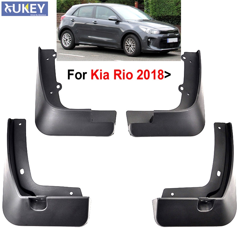 2019 Kia Rio: Set Molded Car Mud Flaps For Kia Rio 2017 2018 2019 YB