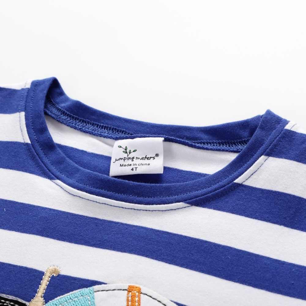 2019 новые брендовые летние хлопковые футболки с круглым вырезом и вышивкой для маленьких мальчиков от 2 до 7 лет, цементовоз топы, рубашка