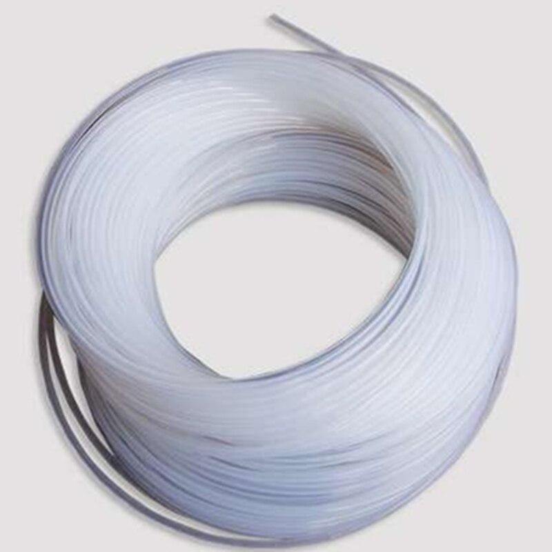 Teflon Tube / PTFE Tube / OD*ID=9*7 Mm / Length:1m / Resistance To Ozone & High Temperature & Acid & Alkali /