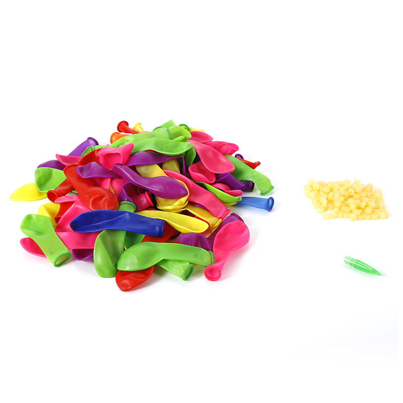 120Pcs/lot Water Bombs Frozen Magic Balloons Mixed Colorful Children Kids Party Sand Game Toys