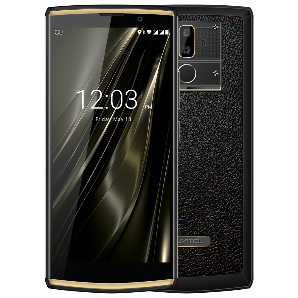 OUKITEL K7 Android 8.1 6.0 FHD + 18:9 MTK6750T 4g RAM 64g ROM 10000 mah 9 v /2A Charge Rapide 13.0MP + 5.0MP D'empreintes Digitales Smartphones