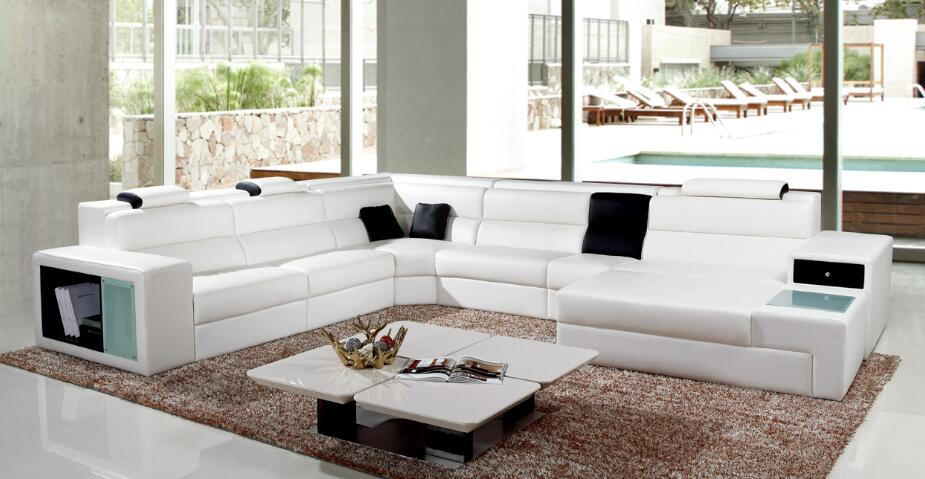 Emejing Wohnzimmer Couch Leder Pictures - Home Design Ideas ...