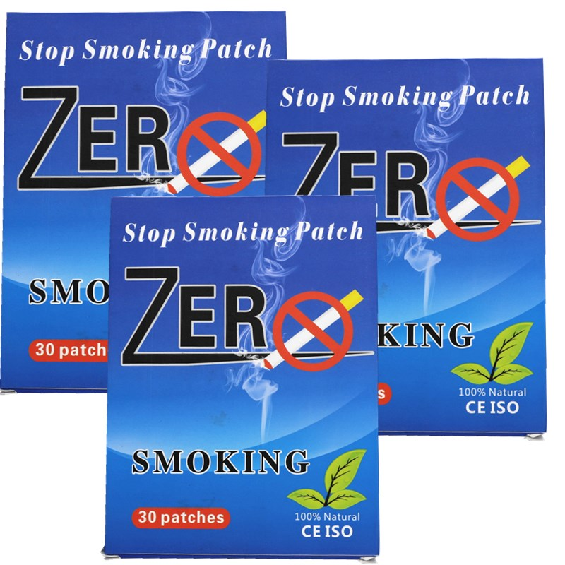 2boxes=60pcs Quit Smoking,Stop Smoking Patch,nicotine Patch,Offers 24-hour Defense Against Nicotine Cravings