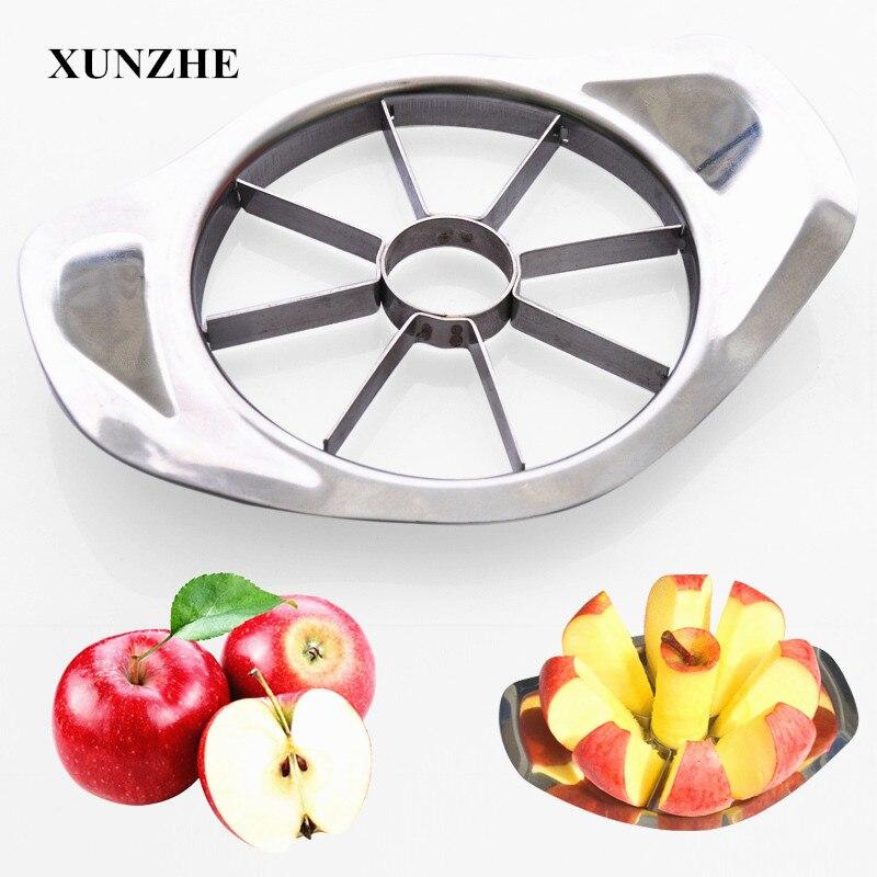 Овощерезка из нержавеющей стали для яблок, нож для нарезки, овощерезка, кухонные гаджеты и аксессуары