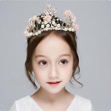 DIWONI New Fashion Hairband Headband Girls Children Christmas Hair Jewelry Crystal Accessories Hoop
