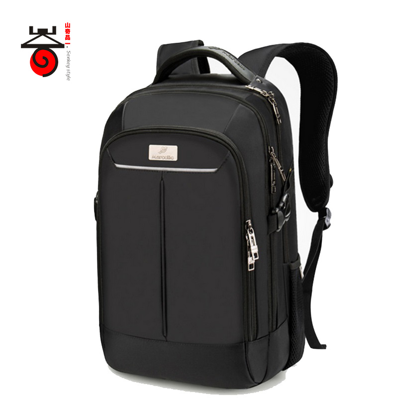ФОТО Senkey style 2017 New Men's Backpacks Casual Rucksack Travel Daypack Mochila for Laptop 15 Inch Notebook Bag Men School Rucksack
