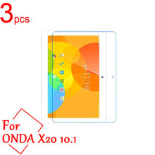 "3pcs Ultra Clear/Matte/Nano Anti-Explosion LCD Screen Protector Film Cover For Onda X20 MT676 10.1"" tablet Protective Film(China)"