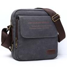 Человек городской ежедневно сумка Высокое качество Для мужчин холст сумка Повседневное путешествия Для Мужчин's сумка мужская Курьерские сумки 3 Размеры