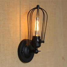 Retro Style Loft Industrial Vintage Wall Light For Home Edison Wall Wamp Sconce Arandela Apliques Pared Wandlamp retro loft style industrial edison vintage wall light lamp antique iron edison wall sconce lamparas de pared