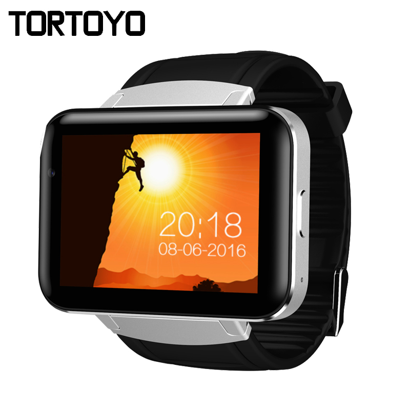 TORTOYO DM98 Android OS Smart Watch Phone 2.2 Big Screen 3G Smartwatch with HD Camera BT WIFI GPS Music Video Chat Google Play 2018 best selling large capacity 32gb memory watch phone 3g android os smartwatch with hd camera wifi bluetooth 4 0 smart watch