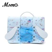 Msmo Kawaii милые Sanrio Cinnamoroll 15th люк рюкзак Японии искусственная кожа женщины сумку для подростков Женские повседневные плюшевые (перья)