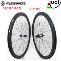 Customized DT 350s hub Straight Pull Sapim cx ray spokes 38mm 25mm wide carbon road wheels clincher with 18 months warranty