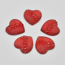 20Pcs 20mm Resin Heart Cat s Eye Flatback Rhinestone Wedding Buttons DIY  Crafts Fashion Clothing Accessories K928 e653234e1522
