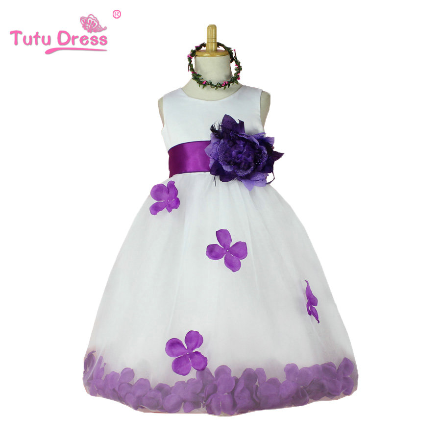 girls dress Picture - More Detailed Picture about Flower Girl ...