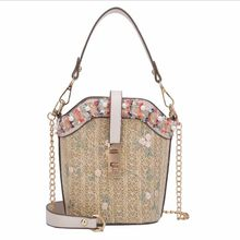 High Quality Women Linen Luxury Tote Large Capacity Female Casual Shoulder Bag Lady Daily Handbag Fresh Beach Shopping Bag(China)