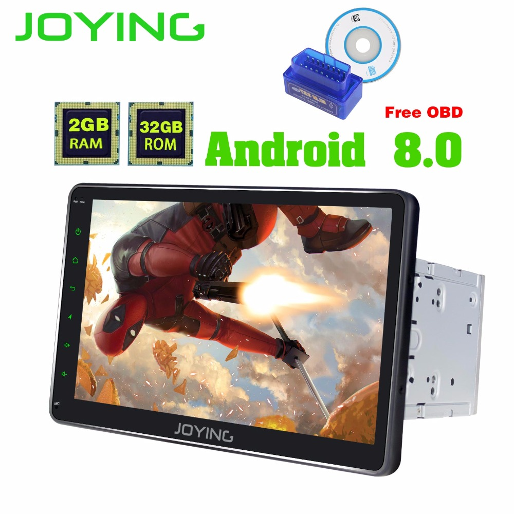 JOYING 2 Din 10'' Android 8.0 Universal Car Radio No DVD Player GPS Navigation 2GB RAM Car Stereo FM Rds Wifi head unit with OBD 7 inch 2 din head unit android 6 0 car stereo car gps navigation car radio bluetooth wifi quad core 1gb 2gb 16gb am fm rds page 10