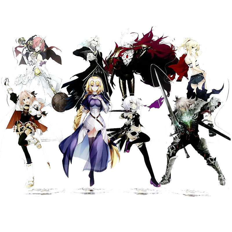 Fate Apocrypha Anime Toy Double Sided Plastic Action Figures Toy High Quality Collection Model Toys 21cm
