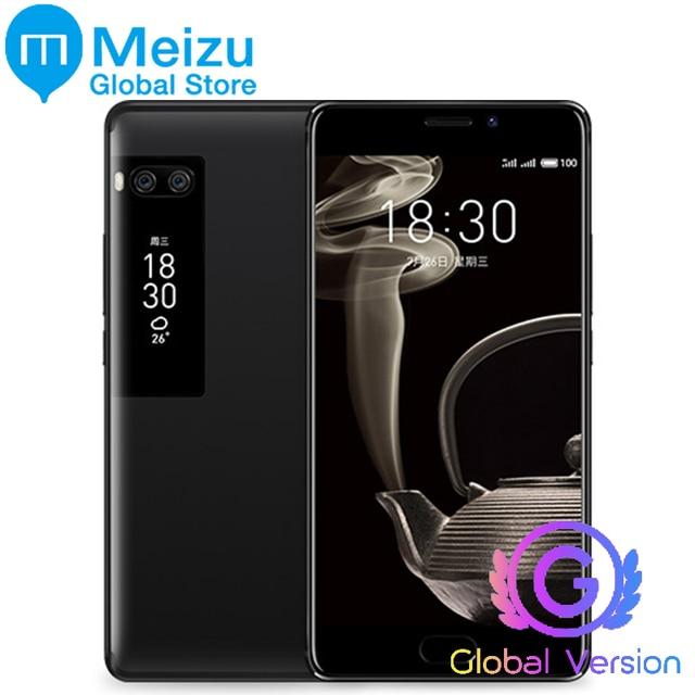 """Оригинал Meizu Pro 7 плюс 6 ГБ 128 ГБ глобальной версии 4 г LTE MTK helio X30 Дека Core 5.7 """"2 К Экран Быстрая зарядка сотового телефона"""