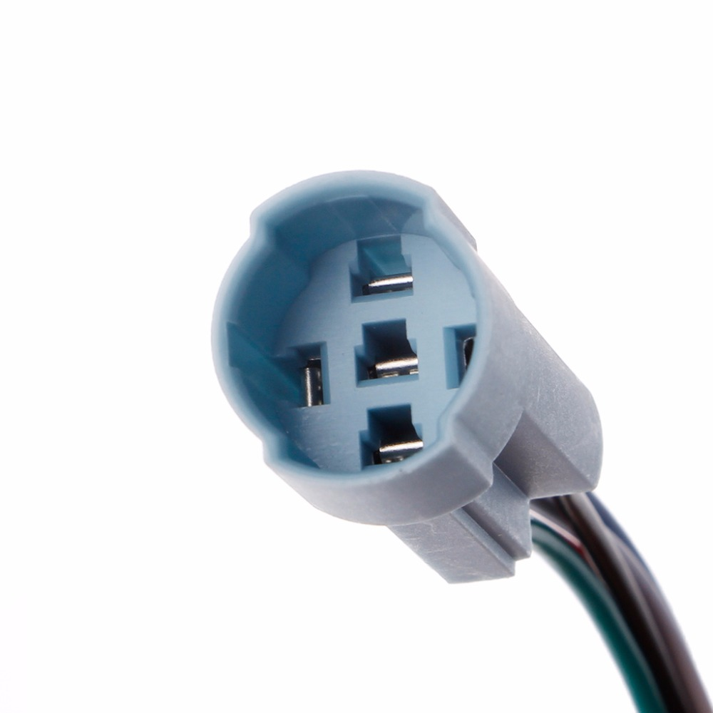 Switch Socket Plug Wire Connector For 16mm 5 Pin Push Button Switch ...