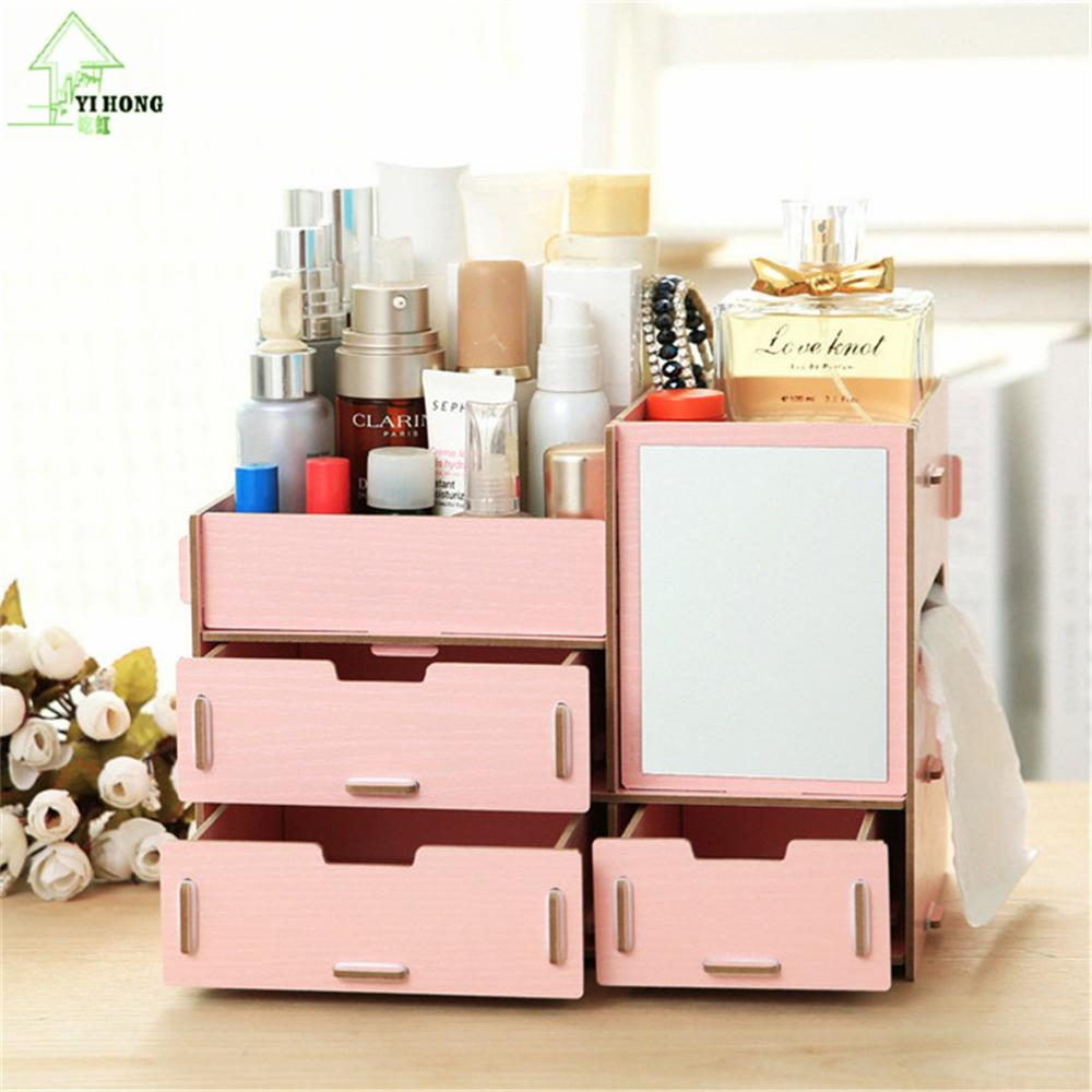 organizer genius holder closet storage supplies tray white drawer mail desk outstanding wood desktop top drawers for wooden