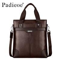 High Quality 100 Genuine Leather Men S Handbag 2016 New Famous Brands Men S Shoulder Messenger