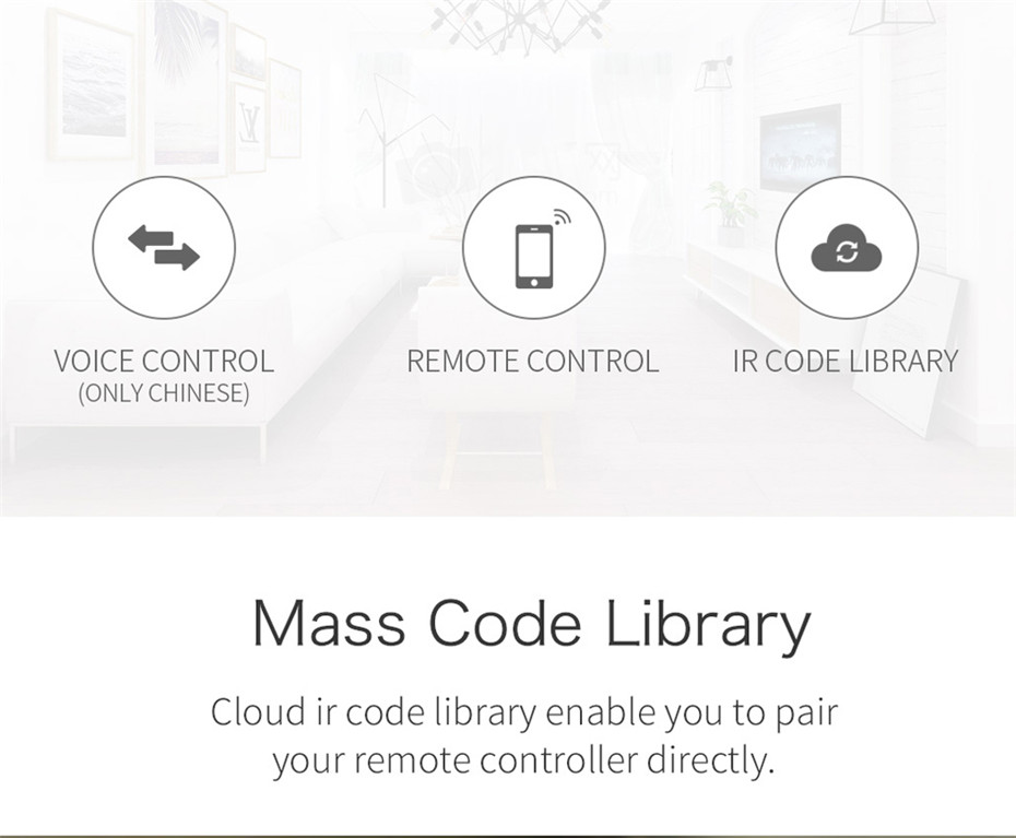 8---Geeklink Smart Home Universal Intelligent Remote Controller WIFI+IR+4G For iOS Android