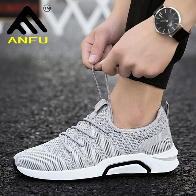 155772f5b5 2018 new size 39-44 gray black red men sneakers more breathable mesh summer  comfortable lace-up cheap high quality running shoes