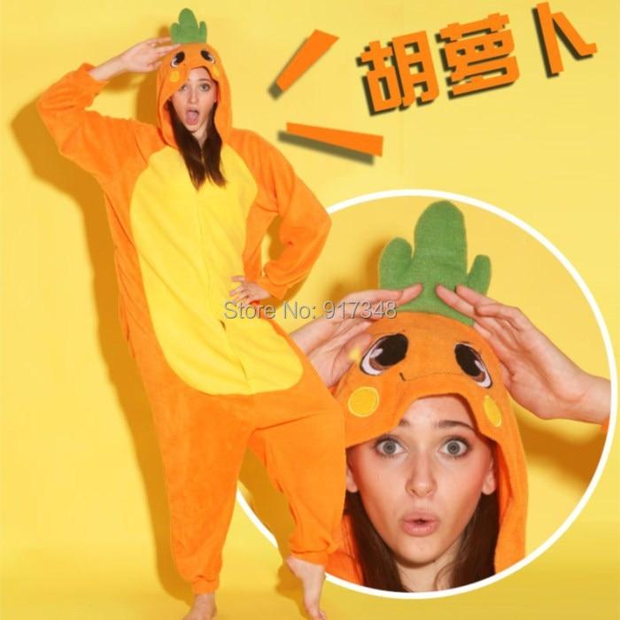 Wortel Eendelige kleding Rompertjes Pyjama Jumpsuit Hoodies - Carnavalskostuums - Foto 3